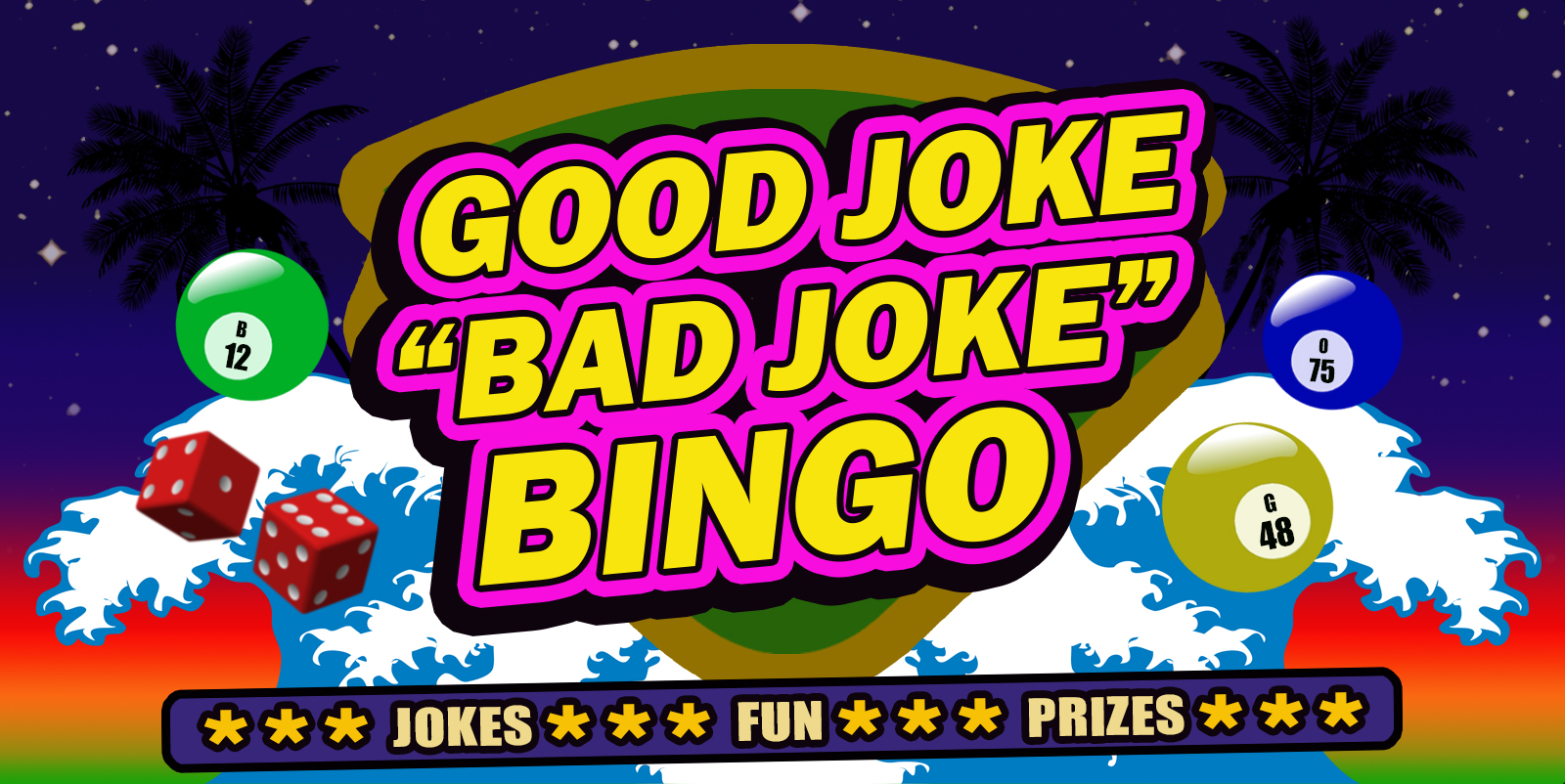 Good Joke/Bad Joke Bingo – Shawn Wickens